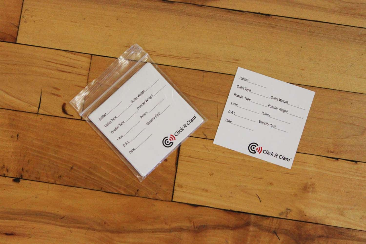 Ammo Labels (12/pack)